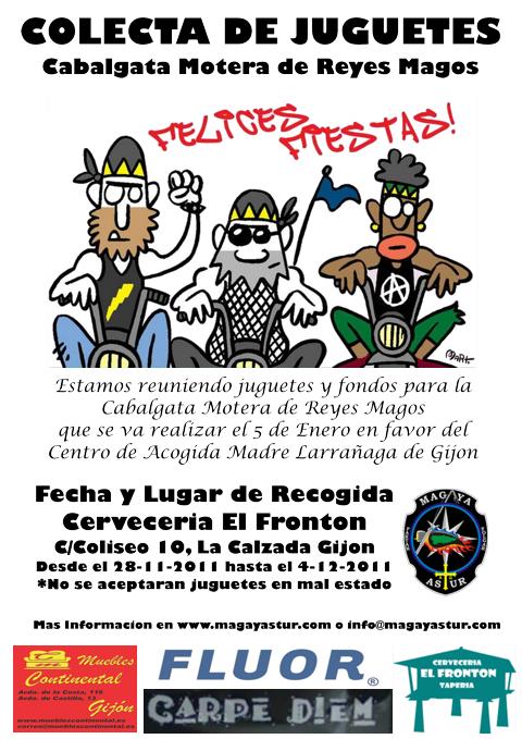 Cabalgata Motera Solidaria CartelColecta