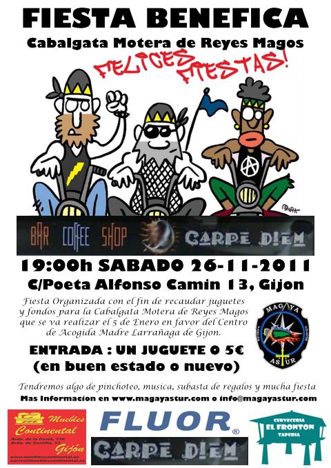 Cabalgata Motera Solidaria FiestaCarpe