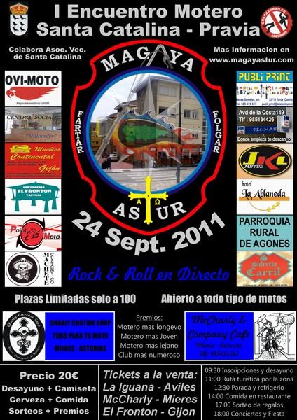I Encuentro Motero Santa Catalina (24 Sept) Pravia Santacatalina_web